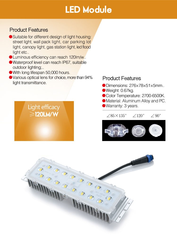 High power 2016 newest products 30w 40w 50w 60w driverless power led module