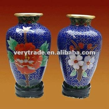 Enamel Vase Pair Cloisonne Vase Buy Cloisonne Vasescloisonne