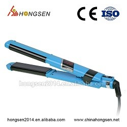 Hot selling professional digital electric metal hair straightening brush