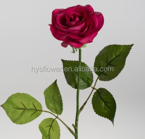 real touch red rose,latex artificial flowers,latest wedding, Beautiful flower