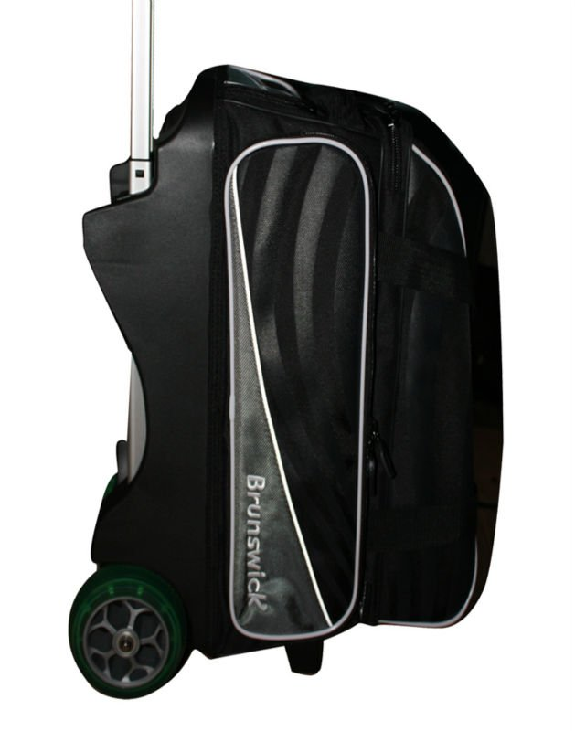 Brunswick Double Bowling Ball Bag With Wheels For Promotion Product On Alibaba