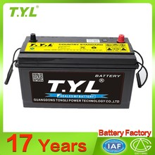 Best selling 105ah car battery new desig105 wholesale online