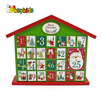 wholesale wooden christmas advent calendar cheap wooden christmas advent calendar wood christmas advent calendar - Wooden Christmas Advent Calendar