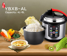 6 liter Hot selling electric pressure cooker with certification