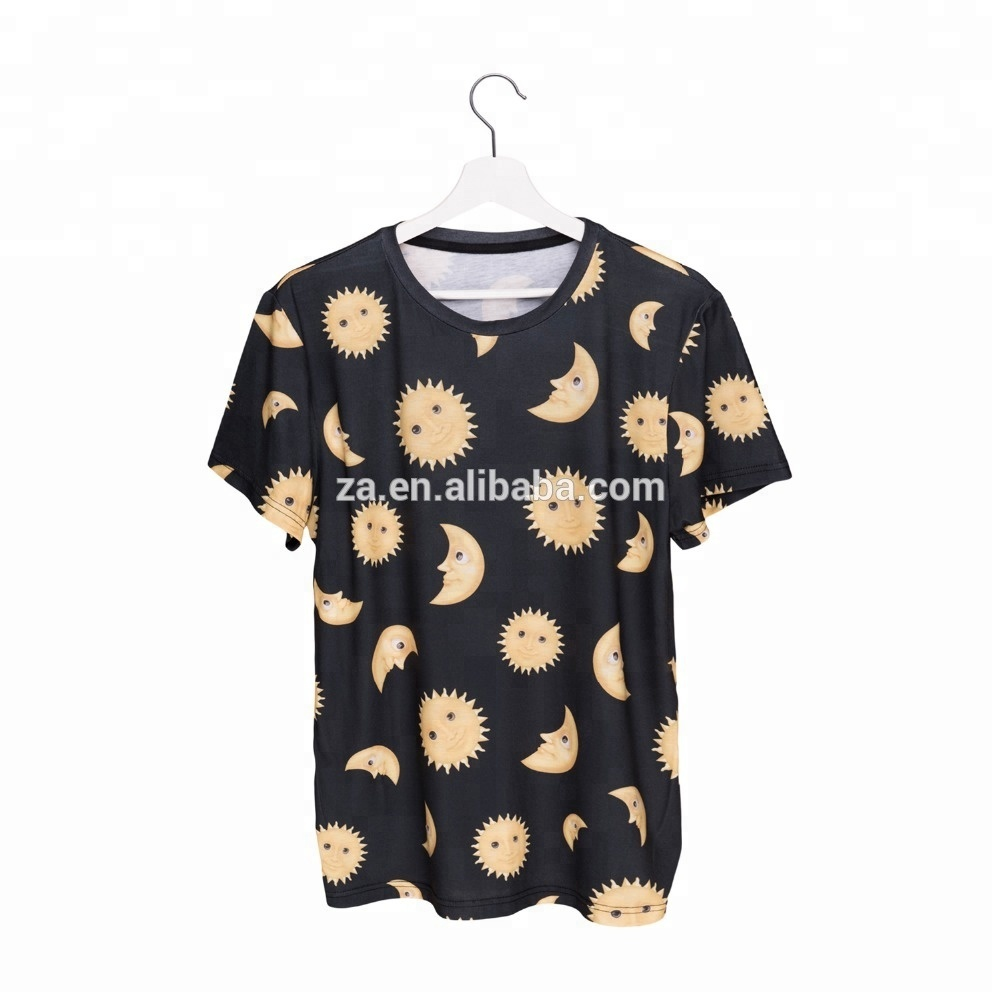 2018 Online Shopping New Design 3d Print Emoji Sun Moon Promotion