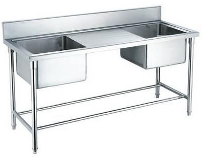 kitchen stainless steel sink work table, kitchen stainless steel