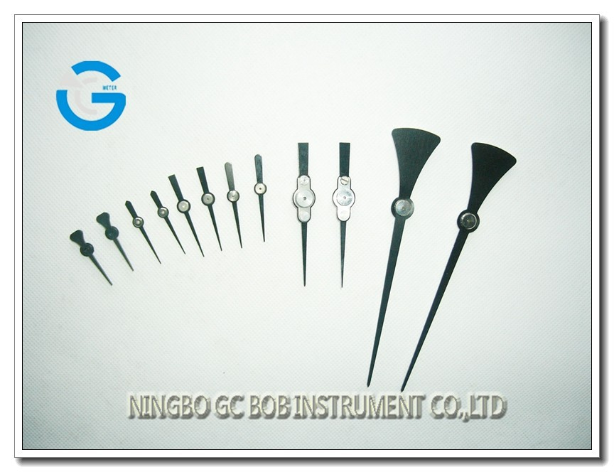 High quality different types gauge pointer for pressure gauge