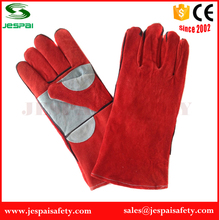 Factory direct Long leather working gloves in heat resistant welding Job