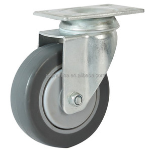 manufacture trolly wheel 32mm, polyurethane, swivel, bolt mount, load caster