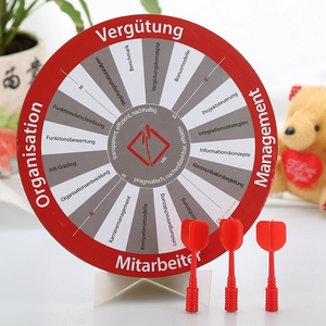 Guangzhou factory children day wooden dart board stands dart board door gift for kids