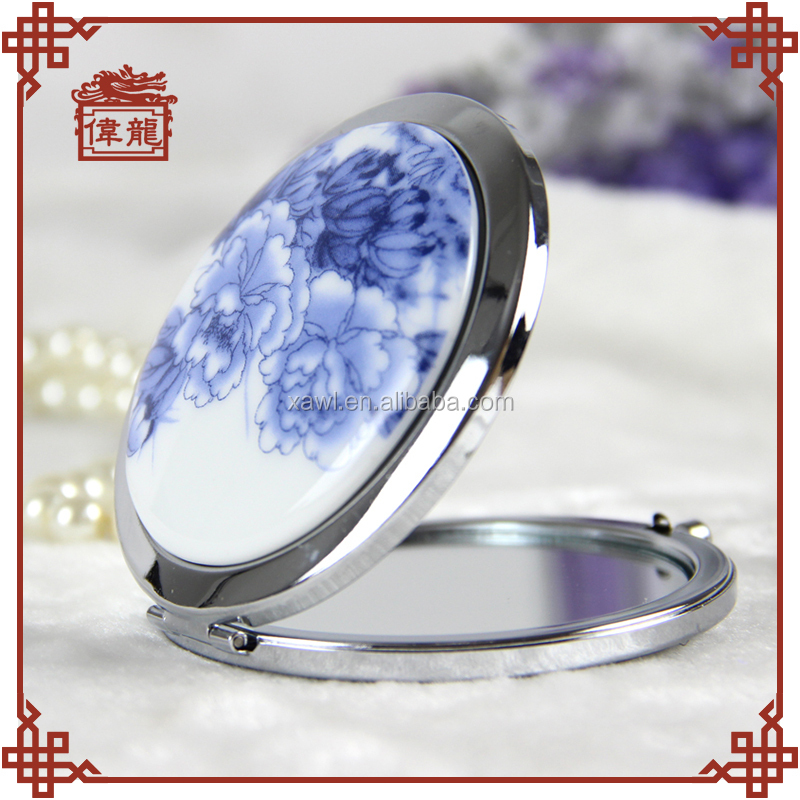 Compact mirrors wholesale elegent design magnified mirrors TCJ108