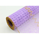 plastic material deco mesh holiday flower mesh wrap