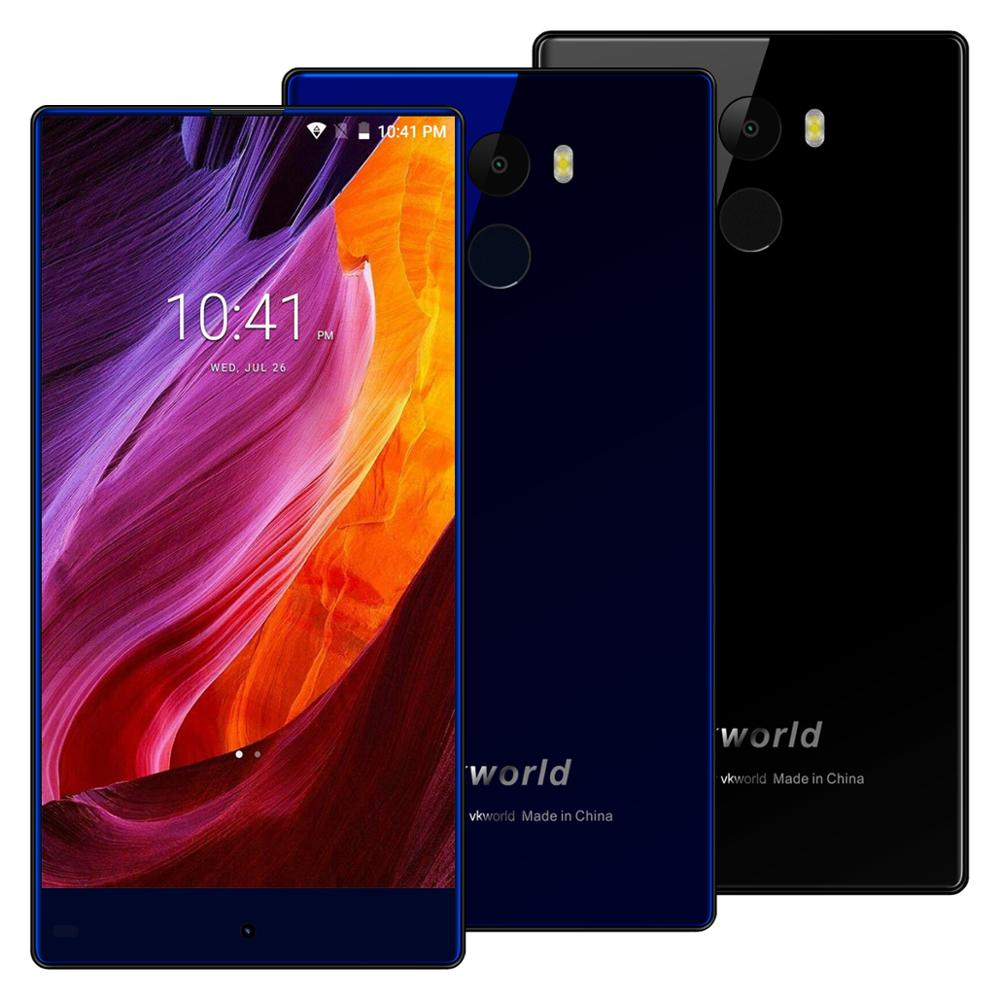 New Mobile Phone VKWORLD Mix Plus Android 7.0 4G Mobile Phone 5.5'' HD MTK6737 3G RAM 32G ROM 13MP 2850mAh Battery Smart Phone