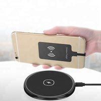 Qi wireless charger fast charging pad universal portable mat for apple iphone and samsung gionee Mobile phone watch vivo 10w 12v