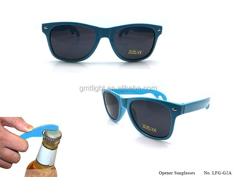 China wholesale durable material beer opener sunglasses