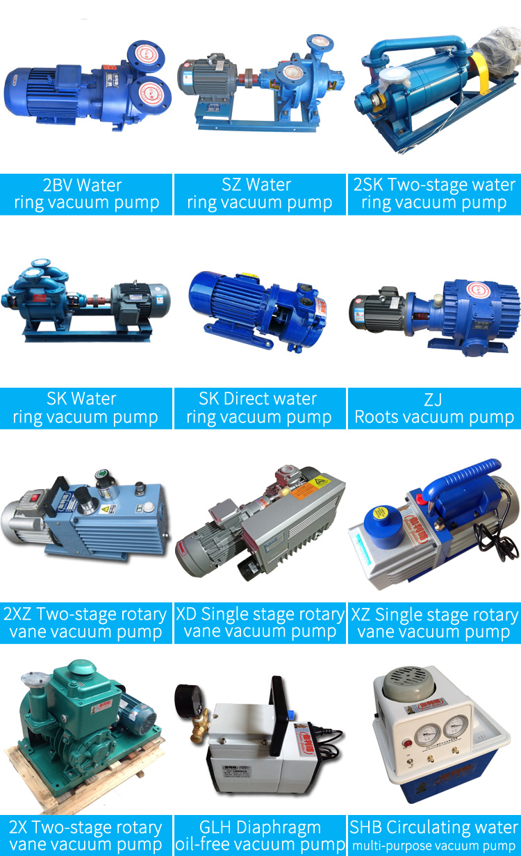 2SK large double stage water ring vacuum pump