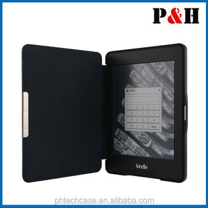 2014 amazon kindle paperwhite case , original kindle paperwhite cover leather case
