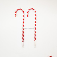 IN51535 Christmas Wand Plastic Straw Ball-point Pen , Christmas Promotion Pen