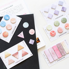 sticky notes cube Rainbow dream mini memo pad planner sticky note paper
