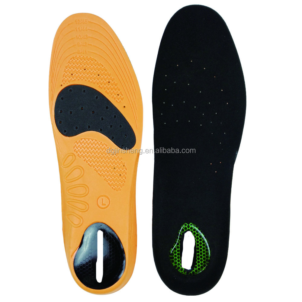 China supplier gel insole material similar to dr scholls
