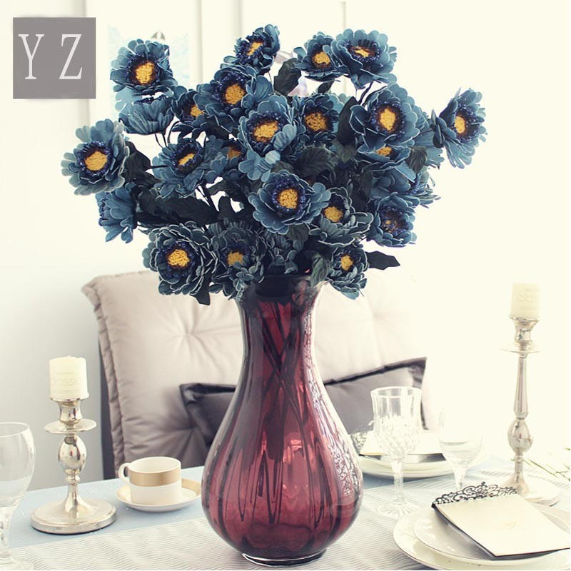 Artificial Flowers Making For Home Decoration Wedding Table Centerpieces Single Flower Vase Wholesale Buy Single Flower Vase Wholesale Artificial