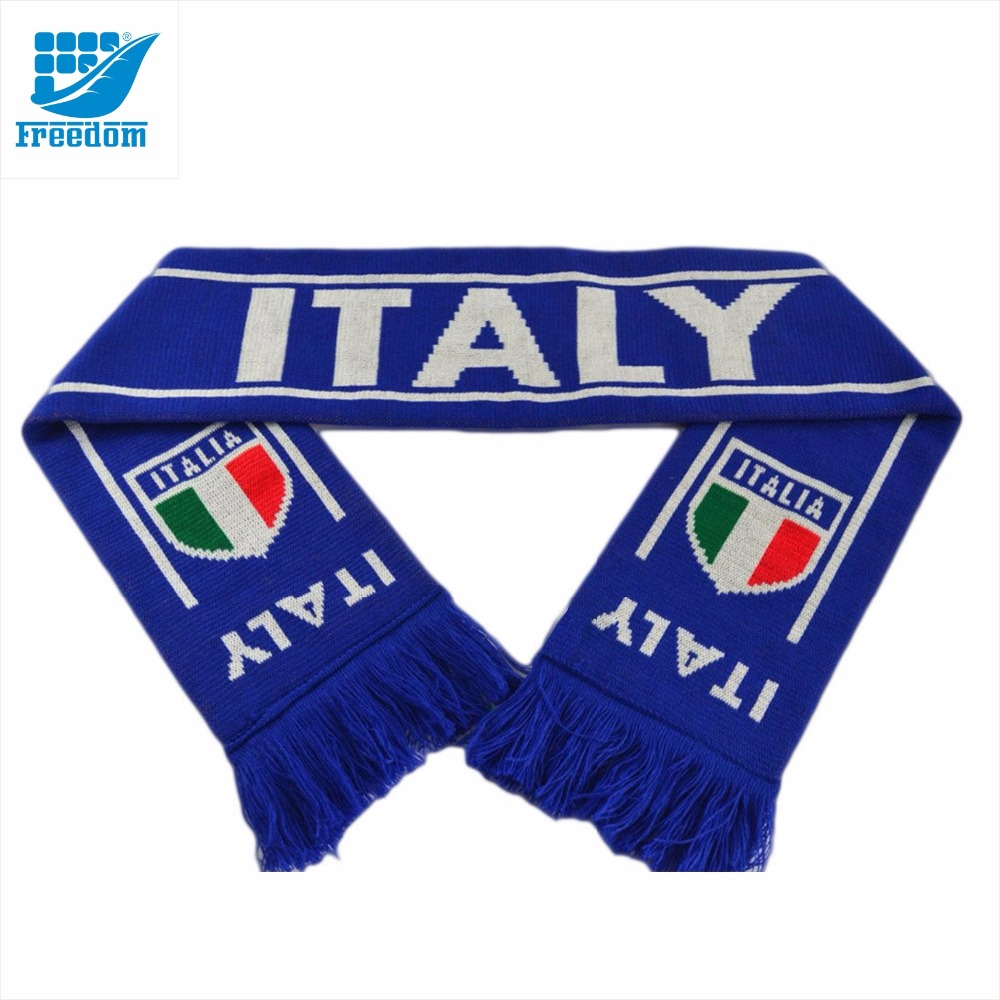 2018 GO TEAM Knitted Sports Football Scarf