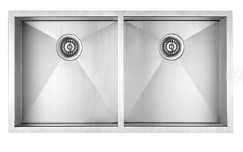 Handmade Fabricated Kitchen Sink 3219d Zero Radius - Buy Zero-radius ...