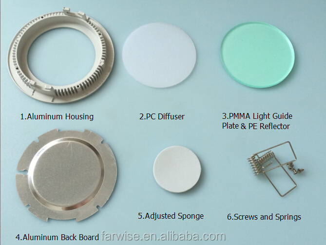 Led Panel Light Housing led 600x600 ceiling panel light LED Panel Light Parts SKD