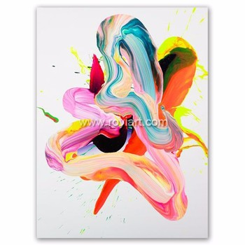 Mudah Minyak Lukisan Gambar Di Kanvas
