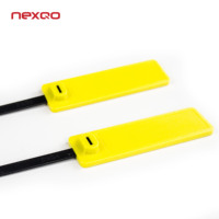 RCT01 Custom Printed Self Locking RFID Plastic Zip Tie Nylon Cable Tie Tag with Label