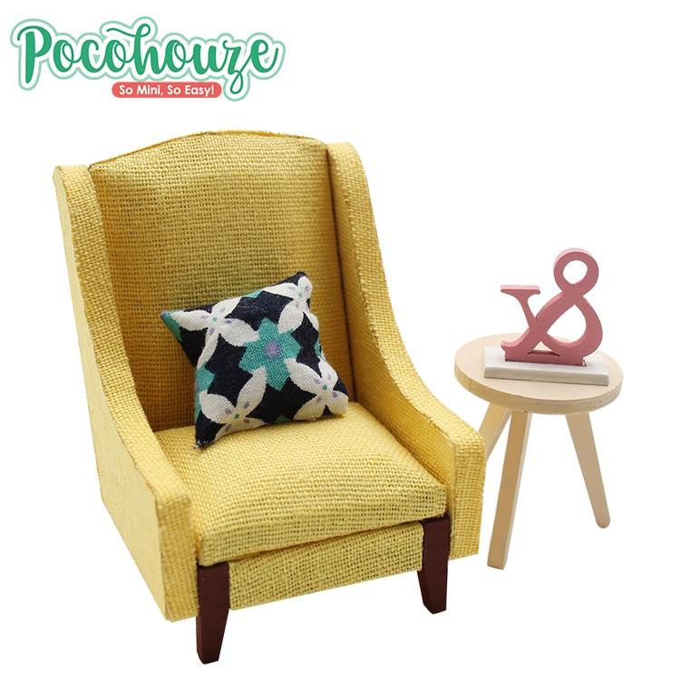 Enjoyable Hot Sale Diy Wooden Mini Village Dollhouse 1 18 Scale Miniature Furniture Chair Sofa Toy Buy Miniature Furniture Chair 1 18 Scale Miniature Lamtechconsult Wood Chair Design Ideas Lamtechconsultcom