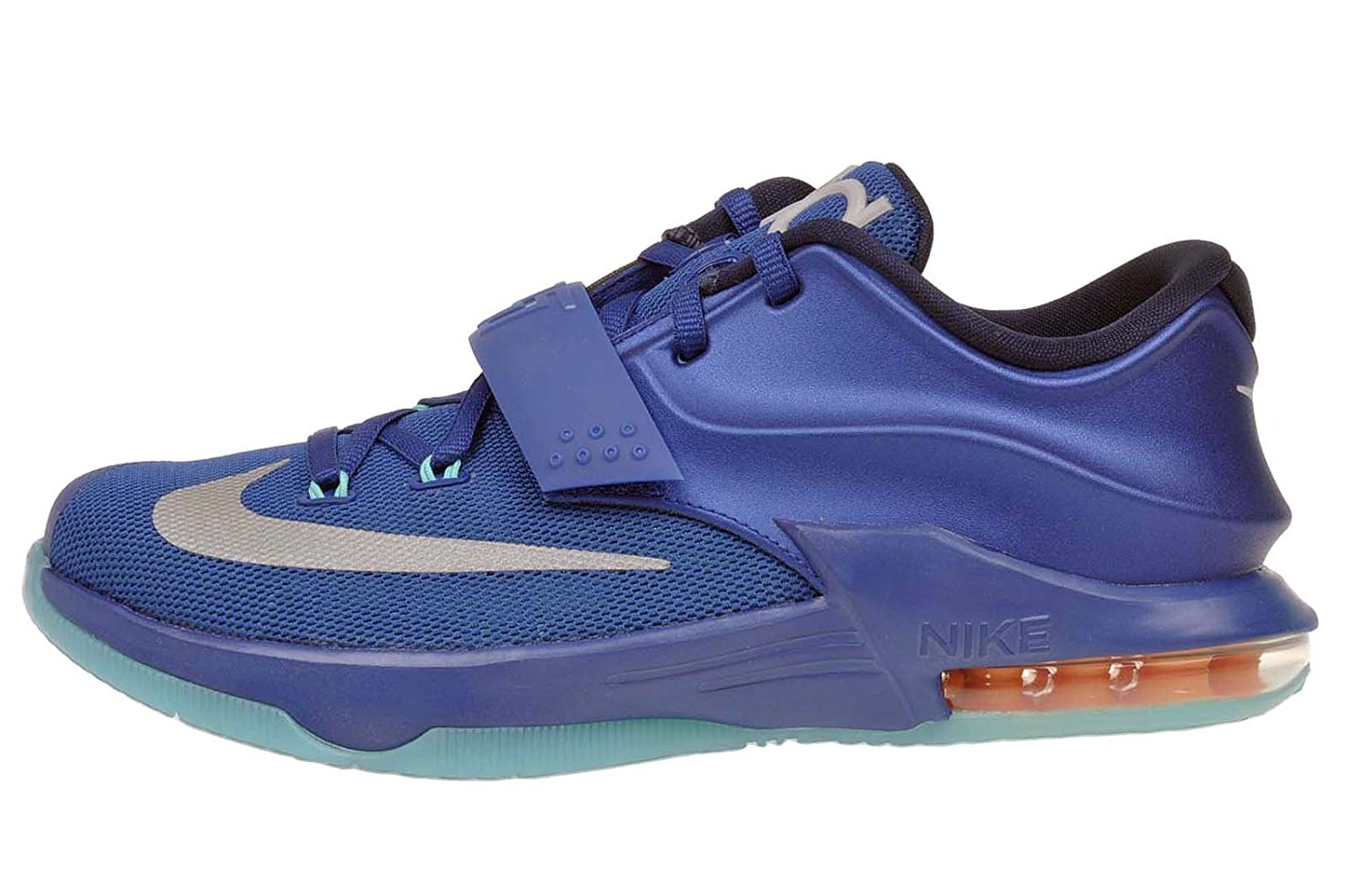 promo code 803fd e476d Get Quotations · Nike KD VII GS (Elite) Gym Blue Mtllc Silver-Light Retro