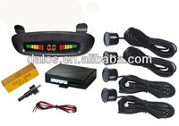 Diy Car Parking Sensor With Led Display Parking Guidance System ...