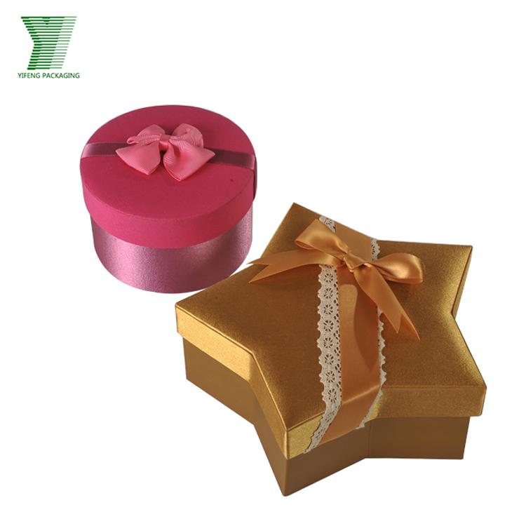 China Supplier Wholesale Star Shape Decorative Christmas Gift Box ...