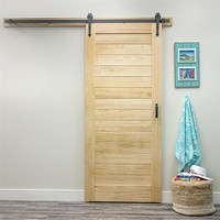 modern sliding barn door with high quality for store door