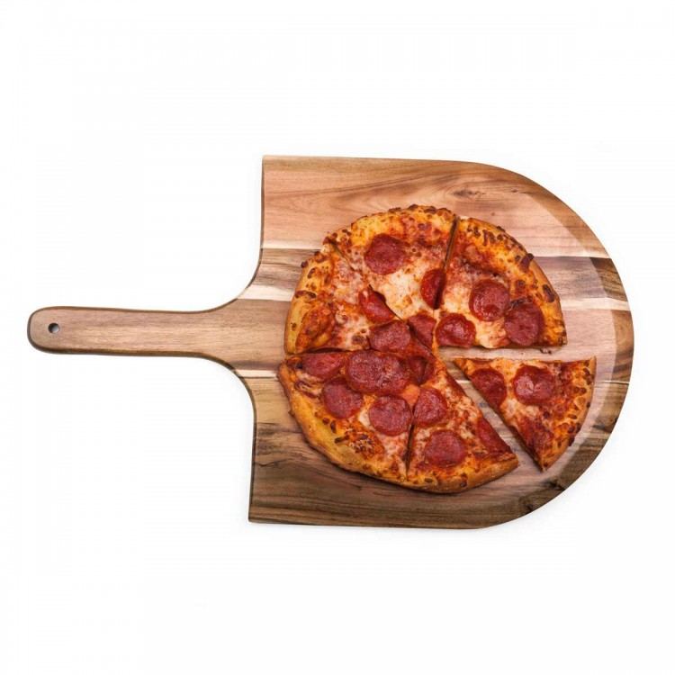 OEM wholesale acacia wood pizza serving board cheap promotional cheese board