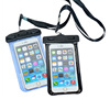 white plastic waterproof underwater bag case for iphone 5 5s
