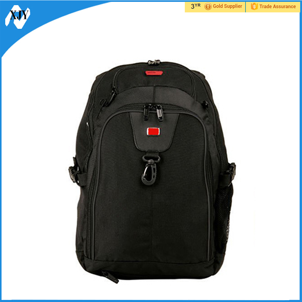 2017 brand export black polyester boys school bags