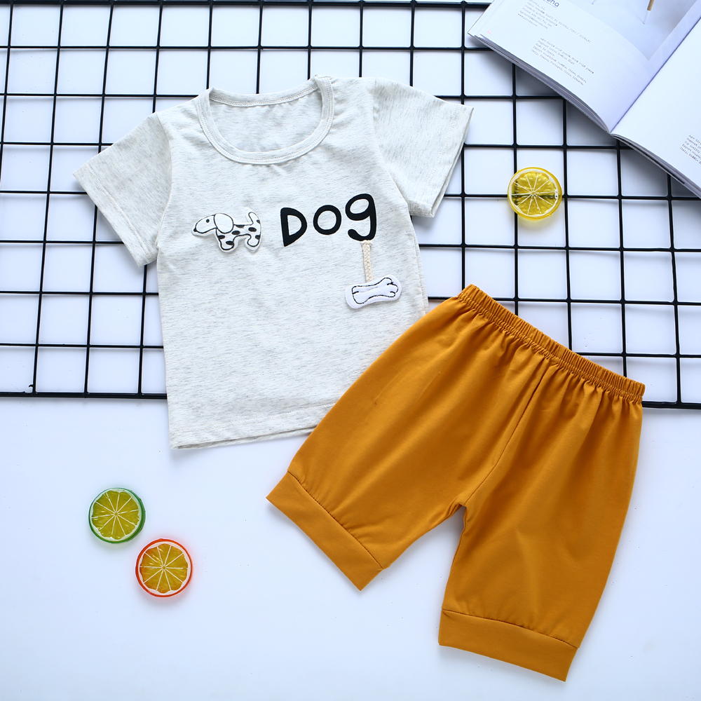 CYFOREVER stylish summer season baby boys clothes 2pcs set