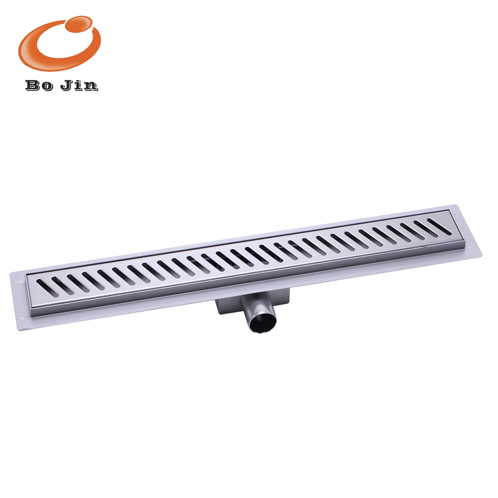 building material interior stainless shower drain linear drain channel drain BJ-LSF-G006