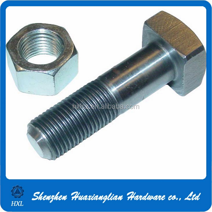 China manufacturer custom steel thread m4 m6 m8 square head bolt