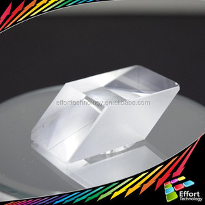 Optical glass/ plastic acrylic Prism