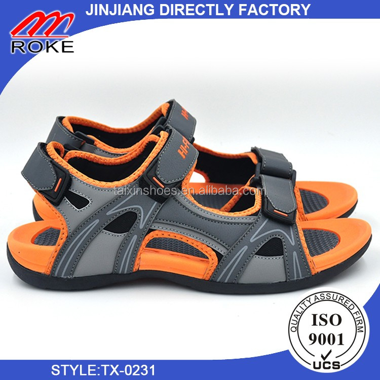 New Men's Outdoor Casual Shoes Leather Sandals Shoes on sale
