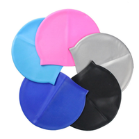 OEM high quality good elasticity silicone swimming cap