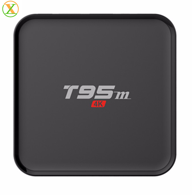 2017 newest HPC android tv box T95M free download china video free to air set top box
