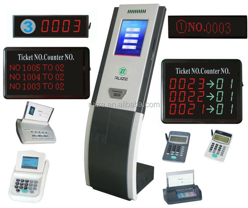 Wireless Queue Management/digital Queue Manager/ticket Printer ...