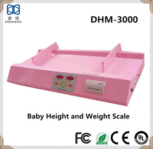 DHM-3000 Baby Height Measure Electronics Weighing Body Scale