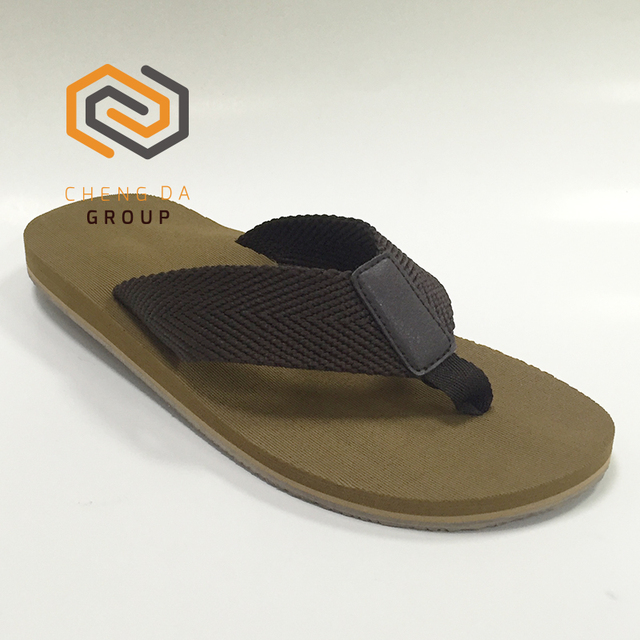 485c736ba China Custom EVA Shoes Webbing Slippers Cheap Wholesale Beach Rubber Flip  Flops For Men