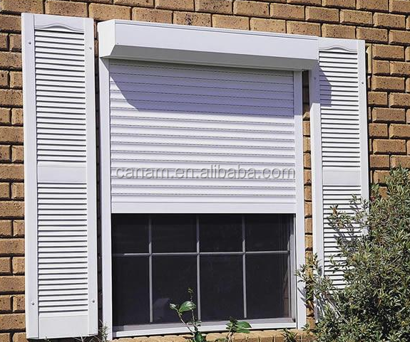 High Quality Metal Rolling Shutter/Aluminum Profile Window