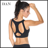 2017 Newest Cheap Wholesale Fitness Wear Sexy Yoga Vest Top Padded Women Sports Bra